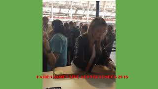 KATIE CASSIDY LIVE ON INSTAGRAM AT HVFF LONDON 2018