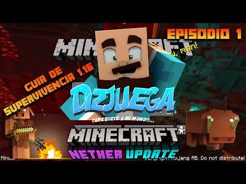 minecraft-guía-de-supervivencia-1.16-|-temporada-1-|-episodio-1