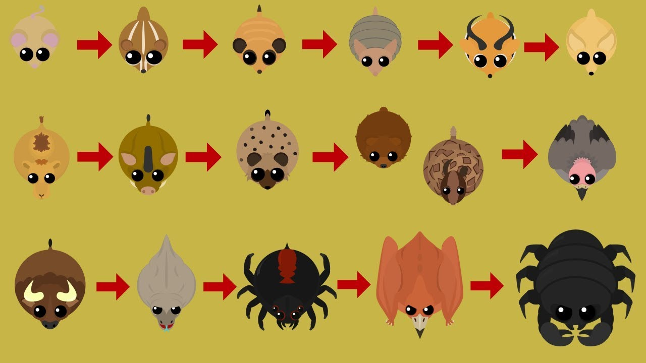 Mope.io ALL NEW DESERT ANIMALS!! Mope.io New Desert Biome Update