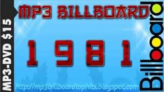 mp3 BILLBOARD 1981 TOP Hits mp3 BILLBOARD 1981
