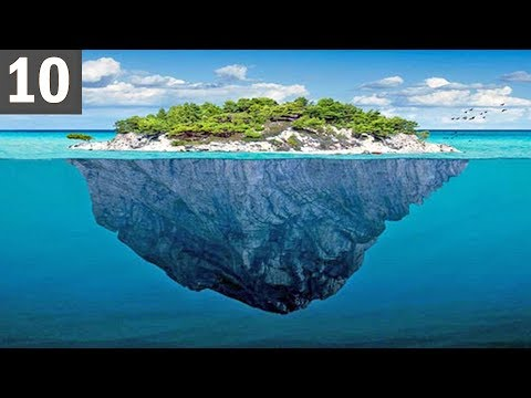 10 REAL Floating Islands