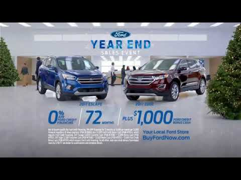 Ford Year End Sales Event Tv Commercial First Impression