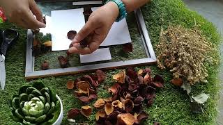 STYLE YOUR FRAMES WITH ROSE PETALS | Arts & Crafts Ep. 1 #calligRHOFE screenshot 1