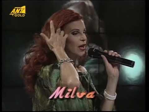 "Milva - Stranieri(Eleni)/Chi Sei/Mamma (Greek TV Show ""Ciao ANT1"") [ΑΝΤ1 TV / 1996]"