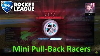 """Redeeming """"Rocket League"""" Mini Pull Back Racer Codes in Game"""