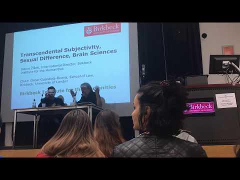 Slavoj Žižek - Transcendental Subjectivity, Sexual Difference, Brain Sciences (Oct. 2017)
