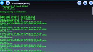 обзор Intercepter-NG или как взломать вк