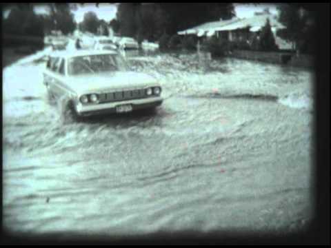 1965 Denver South Platte River Flood footage