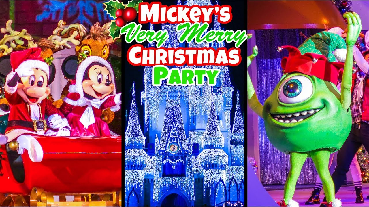Mickeys Very Merry Christmas Party.Top 10 Must Do S At Mickey S Very Merry Christmas Party