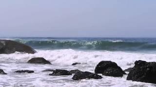 Arcadia Beach Park Oregon Coast Beach Tide Ocean Waves