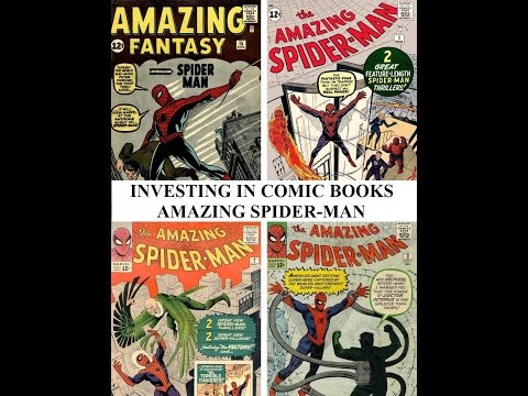 Amazing Spider man 1963 Marvel Comics Investing Speculating comic book guide 1 2 3 4 5 15
