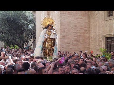 Virgen de los Desamparados - Morning Procession, Valencia 2019