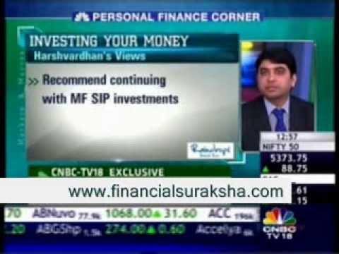 Personal Finance – Harshvardhan Roongta CFP On CNBC TV18 Market & Macros 29/08/13