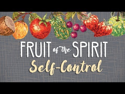 """The Fruit of Self Control""; Scripture: Matt. 7:24-27, Gal. 5:22-23, & James 1:2-4, Rev. Dr. Wright"