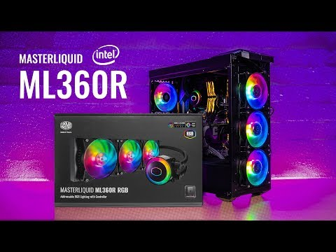 HOWTO Install Cooler Master MasterLiquid ML360R RGB On Z370 & Z390 Motherboards