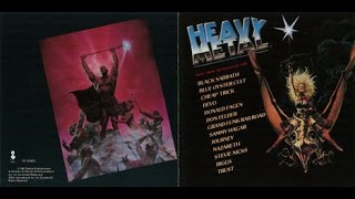 Heavy Metal Soundtrack (1981) [Full Album] Various Artists + Original Score by Elmer Bernstein