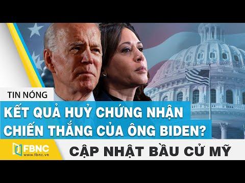 Bầu cử Mỹ 2020 ngày 07/12 | Kết quả yêu cầu huỷ chứng nhận chiến thắng của ông Biden | FBNC