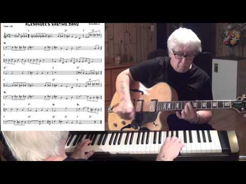 Alexander's Ragtime Band - Jazz guitar & piano cover ( Irving Berlin )