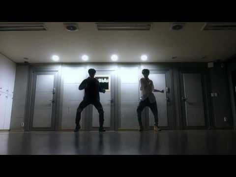 Mirrored Dance practice - JK & JM ('Own it' choreography by Brian Puspos)