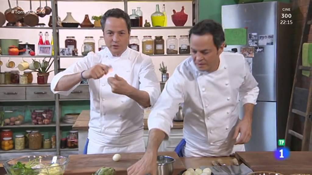Torres en la cocina 2016 01 26 alcachofas con huevos de for Torres en la cocina youtube