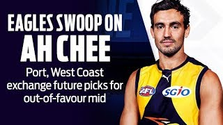 BRENDON AH CHEE Traded to West Coast!!!