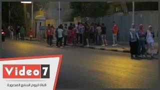 تجمع عدد من جمهور الأهلى بجوار الأوبرا بعد تفريقهم