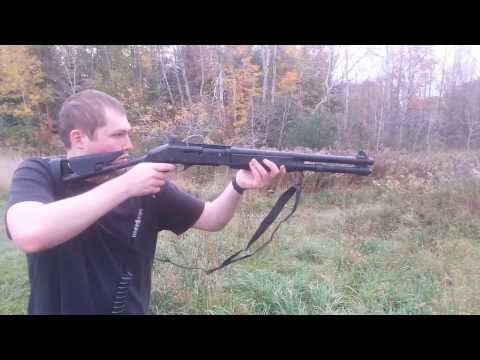 Semi Auto-Shell Ejecting Gas Airsoft M1014 (Custom Marui Build)