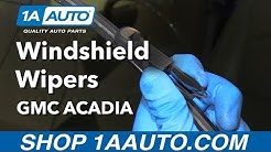How to Replace Windshield Wiper Blades 07-16 GMC Acadia