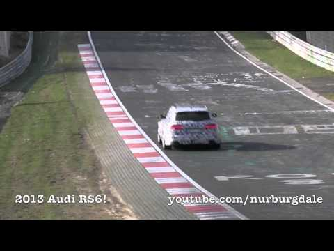 2013 Audi RS6 and Mercedes CLS Shooting Brake on the Nürburgring