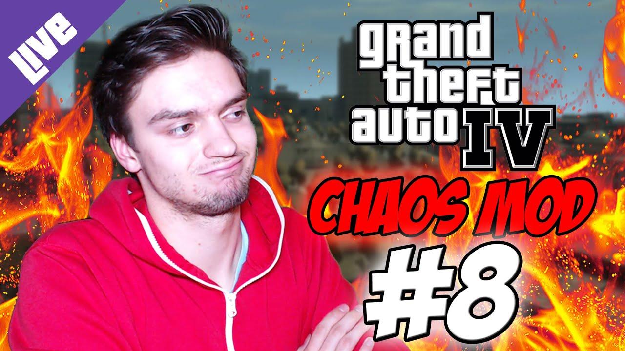 WIE SCHLIMM IST DER CHAOS MOD?   Let's Play: GTA IV - Chaos Mod + Voting! [DE]   #8