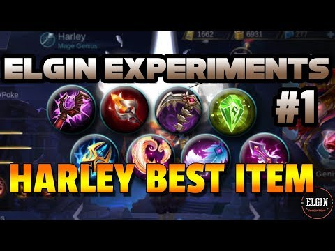 ELGIN EXPERIMENTS #1 - BEST EARLY GAME ITEM FOR HARLEY