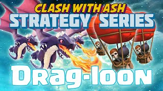 Clash Of Clans   BEST WAY TO 3 STAR TH8 = DRAG LOON 3 EASY STEPS
