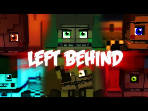 Left BehindCollab MinecraftFnaf Animation