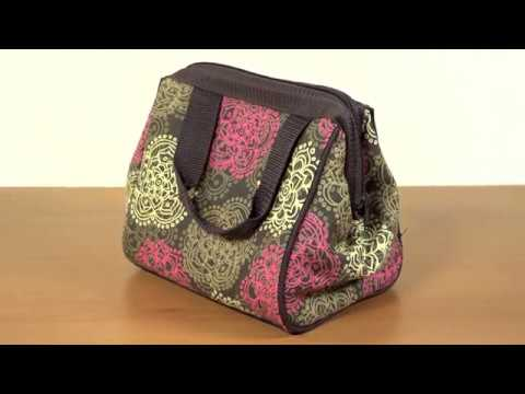Fit & Fresh Women's Downtown Insulated Lunch Bag Video