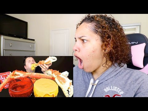 mukbangers dipping their food in way too much sauce for 10 minutes straight Reaction