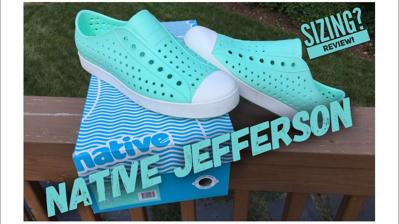f86a14623402c Native Shoes Jefferson Review - YouTube