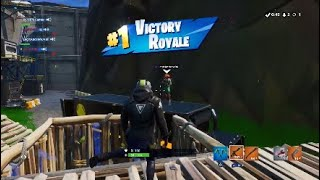 MY FIRST WIN ON SEASON 10!!! - Fortnite Stream Highlights #1