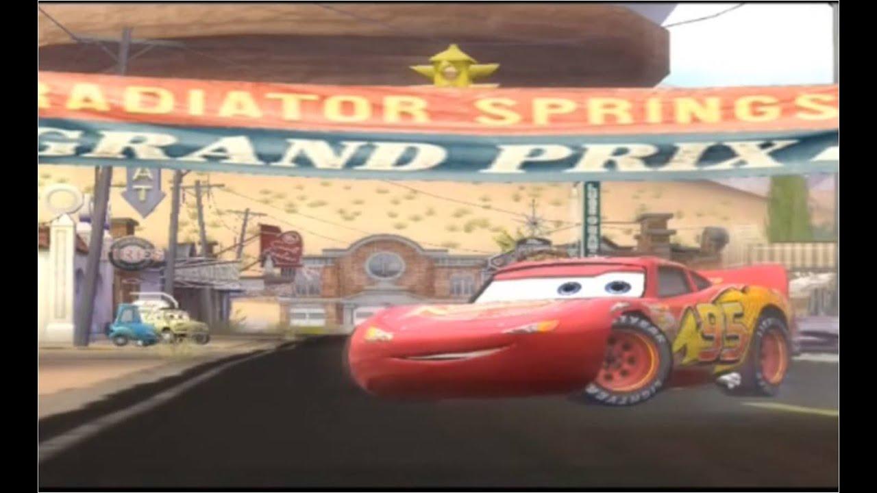 Тачки-гонки. Мультик по игре Disney cars lightning McQueen Racing. Наше всё!