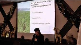 Uusi metsähallituslaki - Toiminnanjohtaja Anne Ollila, Paliskuntain yhdistys