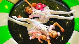 Кукла Настя и странный СОН Видео с куклами БЕБИ БОН Nastya КАК МАМА / Pretend play with baby doll