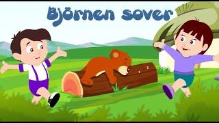 Barnsånger på svenska | Björnen sover med mera