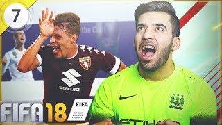 فريقنا الى العالمية بيلوتي الهداف  ! 🔥 #7 فيفا18   FIFA 18 Ultimate Team