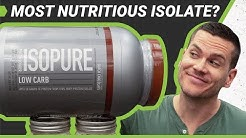 Isopure Low Carb Review (Updated) - The Most Nutritious Protein Powder?
