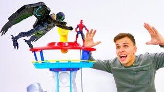 Человек Паук и Стервятник! Супергерои в видео играх.