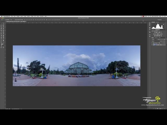 How to Create a Seamless Panorama Using Photoshop