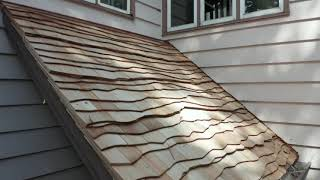 1 Perfections, Curved Install - Lake Geneva, installed by CRC Cedar Roofing Company