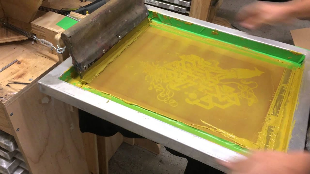 How To Do Professional Screen Printing On T Shirts At Home