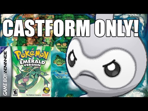 CAN YOU BEAT ALL OF POKEMON EMERALD WITH ONLY A CASTFORM?