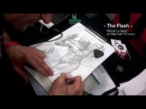 The Flash Dibujo A Lápiz
