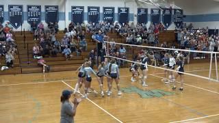 Girls Volleyball State Tournament Playoff - T.C. Roberson @ West Rowan
